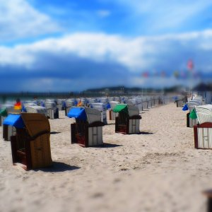 Strand in Lenste